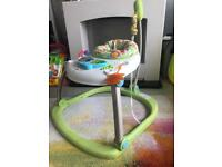 Fisher price rainforest friends jumperoo.