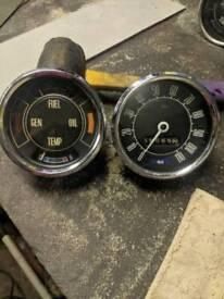 Mk2 Ford Cortina clocks