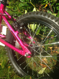 Adventure Girls bike 12 inch wheels