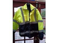 yellow/black jacket workwear 3 XL