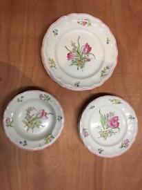 Spode Copeland Luneville plates.
