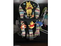 Whinnie the pooh bouncy chair