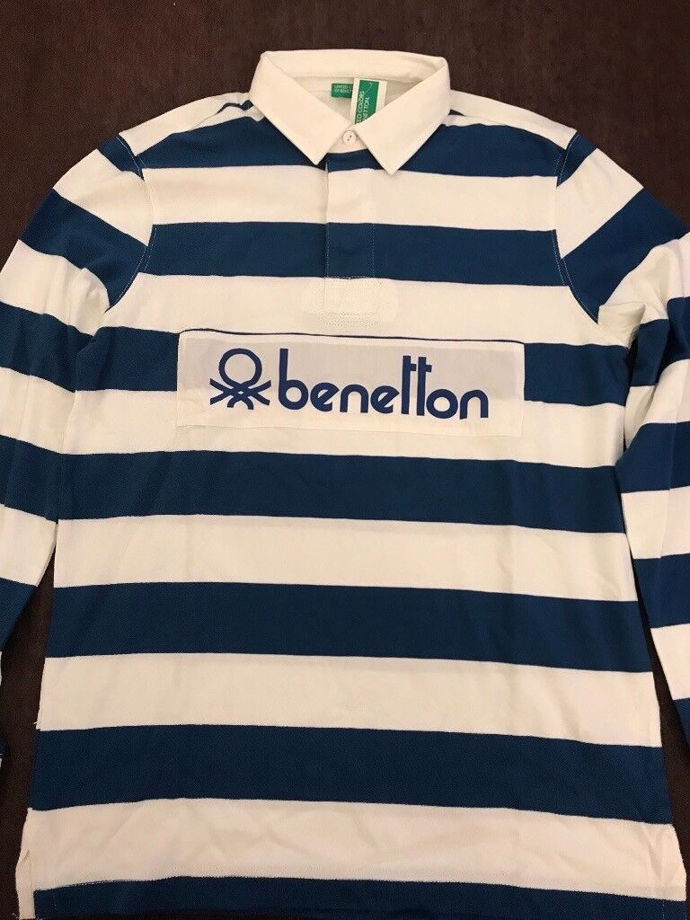 aeb94279 Benetton Rugby Shirt BNWT rare 80s Casual classic   in Chelsea ...