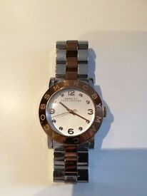 Marc Jacobs Silver and Gold Watch