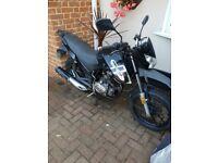 Lexmoto 125cc motorbike 66 plate