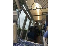Vintage style large mirror Next. S5 area pick up only
