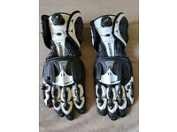 Knox Handroid Gloves CE - Black / White