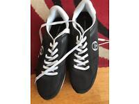 Sergio tacchini black trainers size 11