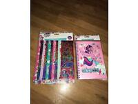 My little pony notebook & Stickers