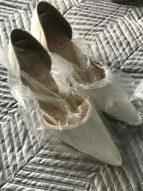 Ladies brand new Wedding shoes