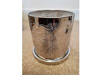 Partylite enchanted celebration candle holder hurricane. Ex display item with box