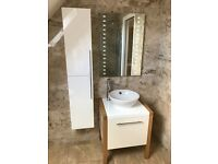Bathroom furniture for sale. Cabinets, sinks, taps, toilets etc.
