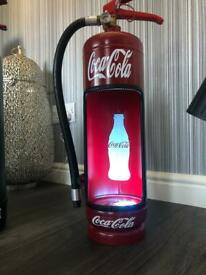Fire extinguisher light displays