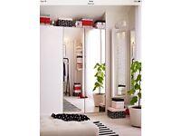 4 ikea mirror wardrobe doors, DOORS ONLY