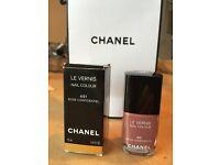 Chanel nail polish. Rose Confidential. 491.