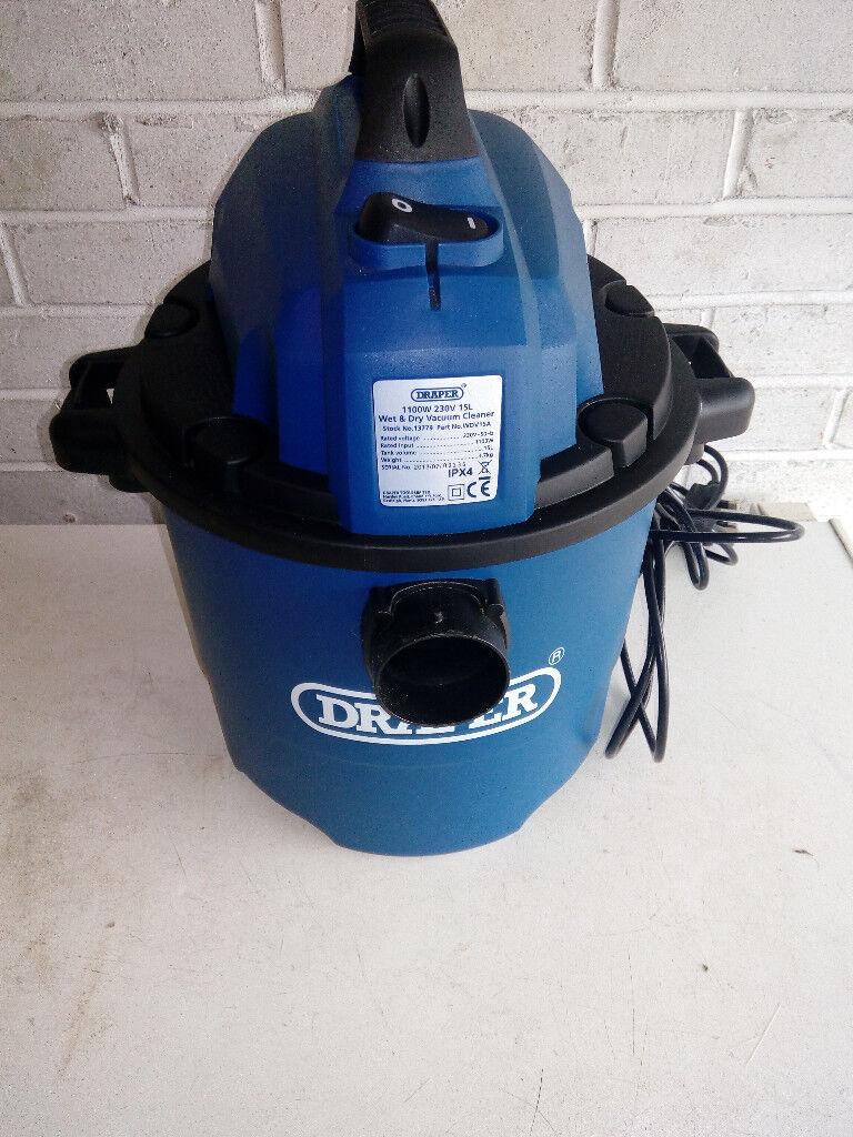 Draper wet and dry vacuum cleaner unused