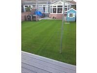 Patio, fencing artificial grass services