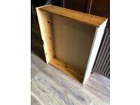 Pine under bed storage boxes