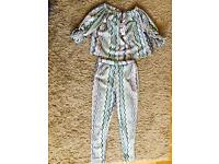 Brand New Off the shoulder two piece suit