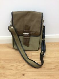 Large Slon Torbalski leather /suede satchel bag- immaculate condition