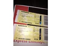 Kasabian tickets x 2 - MILAN