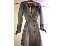 Women's size L coat/mac