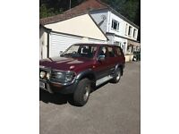 Toyota Hilux Surf. Great Condition. New MOT. New Tyres. New Exhaust.