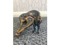 """Halo 2 Arbiter Figure (3"""") with Banshee Vehicle (Excellent Condition)"""
