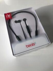 BEATS X WIRELESS BLACK HEADPHONES