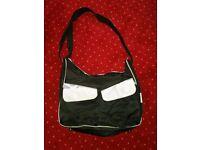 Baby Changing Bag Black/Grey