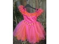 Fit for a Princess Pink and Orange Multi Function Dress for 3 to 6 year Old for ONLY £10.00