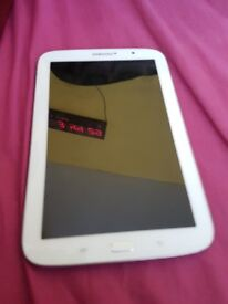 Samsung galaxy note 8 tablet perl white 16GB wifi