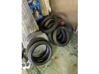 Free to collect tyres scrubs
