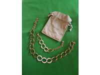 Swarovski Chunky Necklace and Bracelet