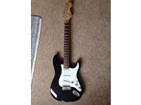 Fender Stratocaster with replacement 22 fret neck