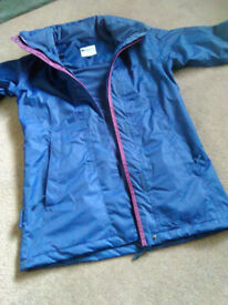 Ladies Parka, Blue, Size 6/8
