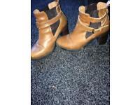 Women's boots and heels