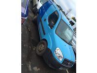Fiat Doblo Cargo 1.3 Diesel 2008 Model Mot Until July ! Low Miles ! Cheap Van !