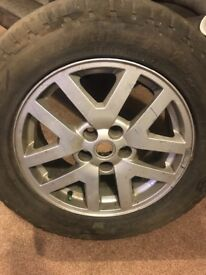 Alloy Wheel With General Grabber AT 255/60/18 Tyre With 5mm Tread