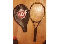 Tennis racquet Wilson hyper hammer
