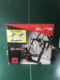 Elite Volare Mag elastogel bike trainer - unused, boxed, assembly instructors