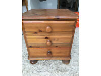 Wooden drawers Cabinet table