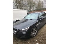 "2007 bmw 530d se diesel auto black full cream luxury leather 19"" spider alloys,face lift model,"
