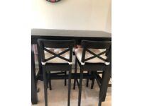 Ikea Dining/ Bar table and 4 chairs