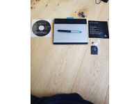 Wacom CTH-480M-N - INTUOS MANGA Graphic Tablet & Pen - Barely used