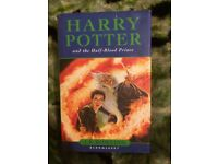 Hard Back First Edition Book Harry Potter and The Half Blood Prince, in VGC