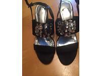 Dorothy Perkins heeled sandals size 8