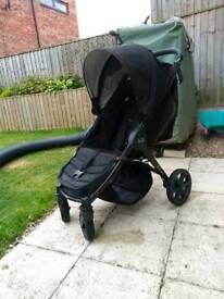 Britax b agile 4 wheeler pushchair