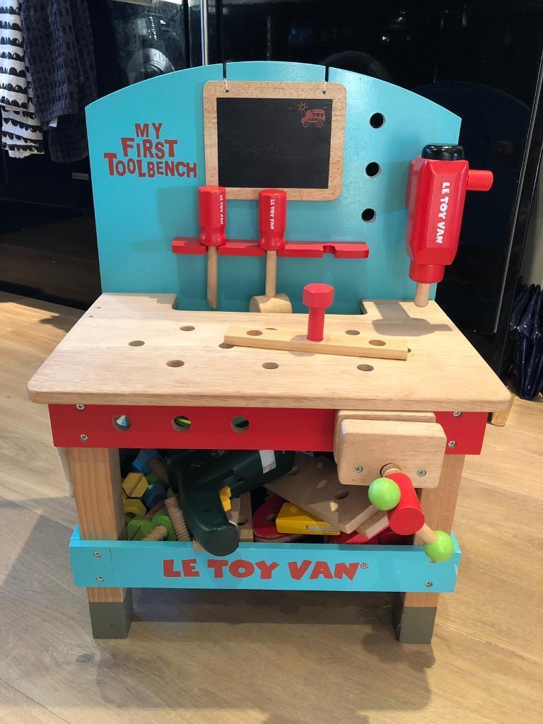 Peachy Le Toy Van Childrens Wooden Tool Bench In Cookridge West Yorkshire Gumtree Gamerscity Chair Design For Home Gamerscityorg