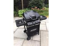 OUTBACK OMEGA 250 GAS HOODED BBQ WITH SIDE BURNER